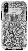 Title Page To Vesalius' Book On Anatomy IPhone X Tough Case