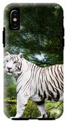 White Bengal IPhone X Tough Case