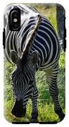 Zebra At Close Range IPhone X Tough Case