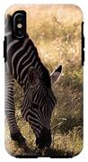Zebra Take One IPhone X Tough Case