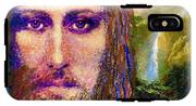 Contemporary Jesus Painting, Chalice Of Life IPhone X Tough Case