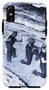 500-feet Level Sulphate Stope Tombstone Consolidated Mine 1904-2013 IPhone X Tough Case