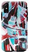 Abstract Marina IPhone X Tough Case