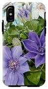 Clematis 2 IPhone X Tough Case