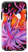 Clownfish And Sea Anenome  IPhone X Tough Case