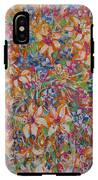 Flower Galaxy IPhone X Tough Case