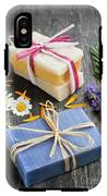 Handmade Soaps With Herbs IPhone X Tough Case