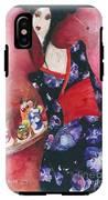 Japanese Girl IPhone X Tough Case