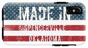 Made In Spencerville, Oklahoma IPhone X Tough Case