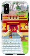 Mahayana Buddhist Temple 1 IPhone X Tough Case