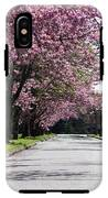 Pink Blooming Trees IPhone X Tough Case