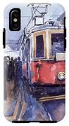 Prague Old Tram 03 IPhone X Tough Case