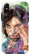 Prince Rogers Nelson Portrait IPhone X Tough Case