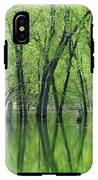 Spring Green Reflections  IPhone X Tough Case