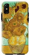 Sunflowers By Van Gogh IPhone X Tough Case