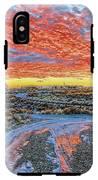 Sunset In El Prado IPhone X Tough Case