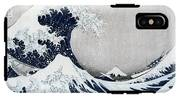 The Great Wave Of Kanagawa IPhone X Tough Case