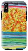 The Sun Drinks The Ocean And Eats The Sky IPhone X Tough Case