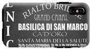 Venice Famous Landmarks IPhone X Tough Case