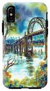 Yaquina Bay Bridge IPhone X Tough Case