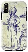 1880 Fireman Suite Patent IPhone X Tough Case