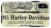 1915 Harley Davidson Advertisement IPhone X Tough Case