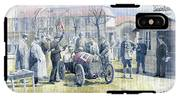 1922 Zbraslav Jiloviste Bugatti T13 Brescia Joan Halmovici Winner  IPhone X Tough Case