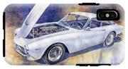 1963-1964 Ferrari 250 Gt Lusso  IPhone X Tough Case