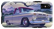 1964 Chevrolet Short Bed Custom Half Ton In The Morning Mist IPhone X Tough Case