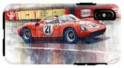 1964 Lemans 24 Ferrari 275p Ludovico Scarfiotti  IPhone X Tough Case