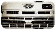 1966 Ford F100 Pickup Truck Grille Emblem -113s IPhone X Tough Case