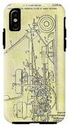 1966 Riding Mower Patent IPhone X Tough Case