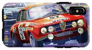 1970 Alfa Romeo Giulia Gt IPhone X Tough Case
