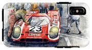 1970 Le Mans 24 Porsche917k Attwood Herrmann Winner  IPhone X Tough Case