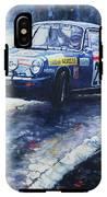 1980 Criterium Lucien Bianchi Porsche Carrera Keller Hoss #20 IPhone X Tough Case