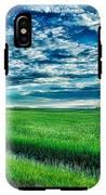 An Iowa Sunset IPhone X Tough Case