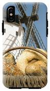 Different Breads And Windmill In The Background IPhone X Tough Case