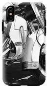 White Harley Davidson Bw IPhone X Tough Case