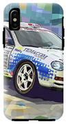 2002 Slovnaft Valasska Rally Toyota Celica Gt Four Liska Jugas  IPhone X Tough Case