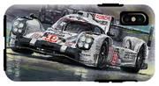 2015 Le Mans 24 Lmp1 Winner Porsche 919 Hybrid Bamber Tandy Hulkenberg IPhone X Tough Case