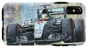 2016 Monaco Gp Mercedes Amg Petronas Hamilton  IPhone X Tough Case