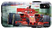 2018 Australian Gp Ferrari Sf71h Vettel Winner  IPhone X Tough Case