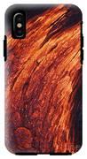 Molten Pahoehoe Lava IPhone X Tough Case