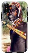 Samburu Warrior IPhone X / XS Tough Case