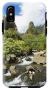 View Of Iao Needle IPhone X Tough Case