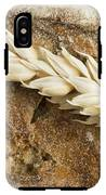 Close Up Bread And Wheat Cereal Crops IPhone X Tough Case