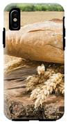 Bread And Wheat Cereal Crops. IPhone X Tough Case