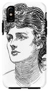 A Gibson Girl By Charles Dana Gibson IPhone X Tough Case