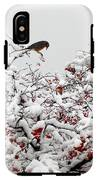 A Little Bird So Cheerfully Sings IPhone X Tough Case