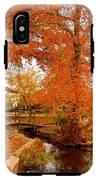 A Morning In Autumn - Lake Carasaljo IPhone X Tough Case